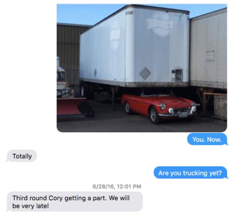 Tiny Car Towing