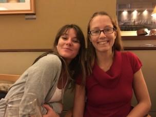 Maddie and Nina
