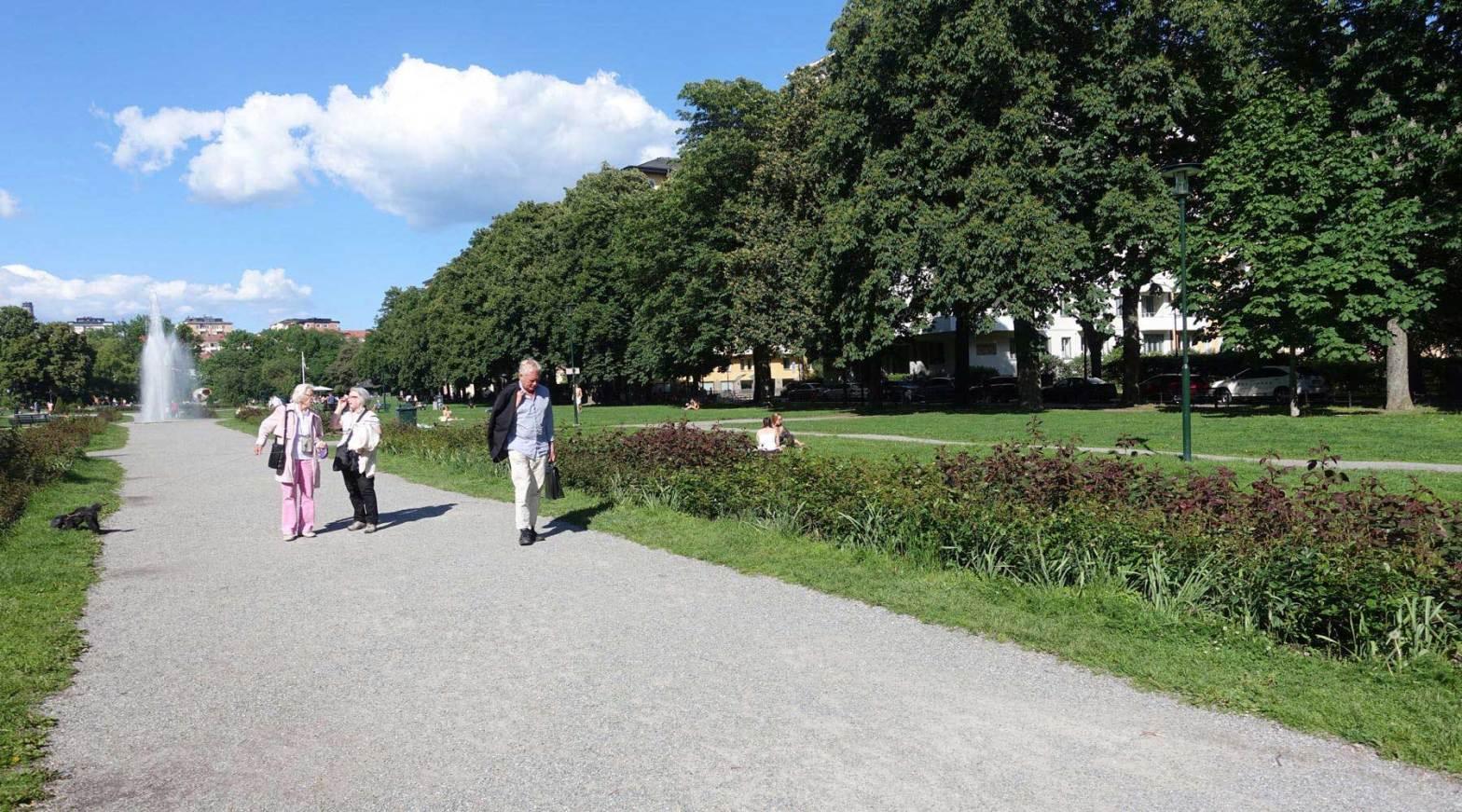 VivBon Senior Service - promenad