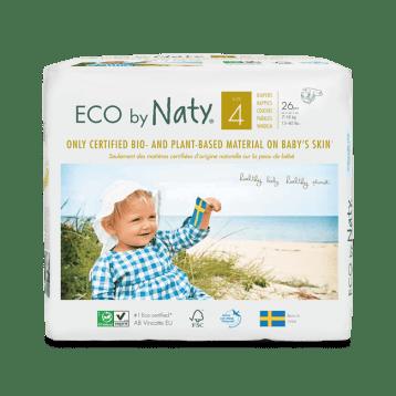 Pañales Naty Biodegradables. Llega un bebé a casa