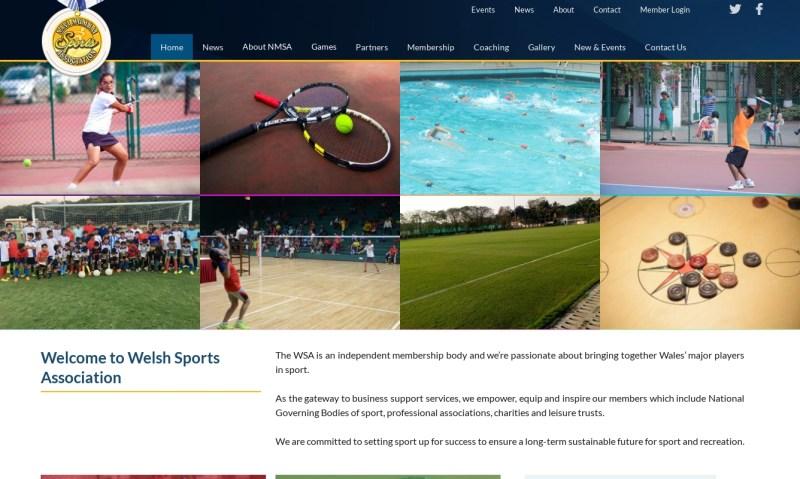 demo sports website