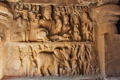 Mythological stories in stone