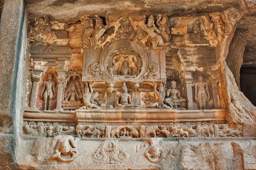 Sculpture in Jain caves