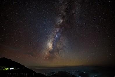 Milky Way rises!