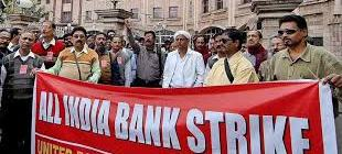 The Bank Strike Begins