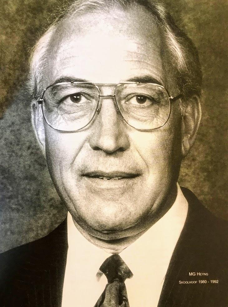 Dr Michau G Heyns (1980-1992)