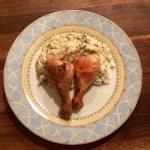 Pilons de poulet et chou-fleur crémeux Keto cétogènes