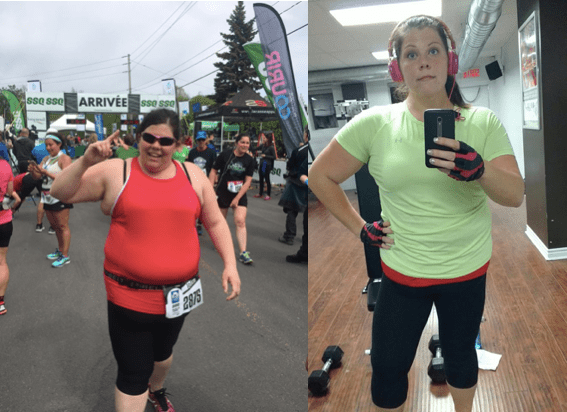 «J'essayais de perdre du poids depuis l'âge de 9 ans! «