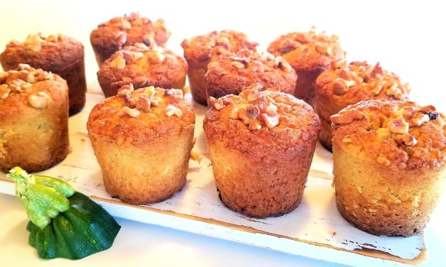 muffins à la courgette Keto cétogène