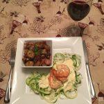Salade chaude de champignons au bacon – Accompagnement