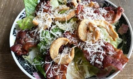 Salade césar Keto cétogène