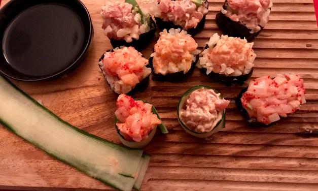 Maki de tartares sans riz! Keto cétogène