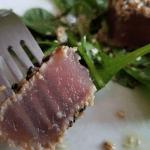 Tataki de thon aux graines de sésame