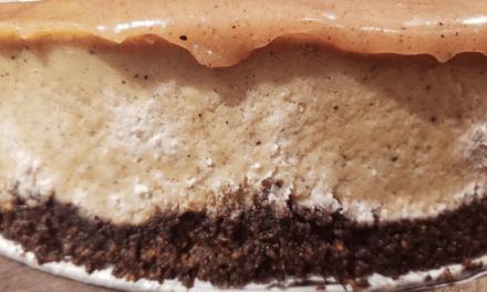 Gâteau au fromage praliné