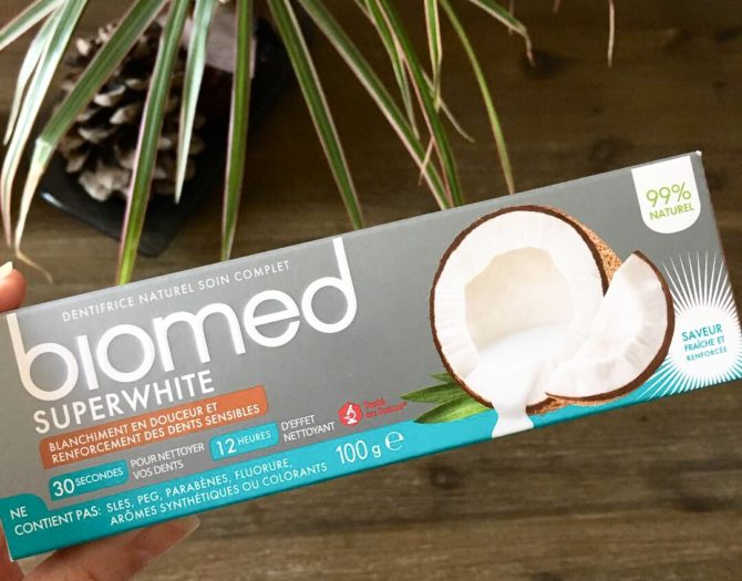 Dentifrice Biomed