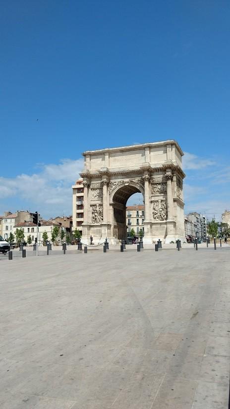 Arco do Triunfo de Marseille, Porte d'Aix