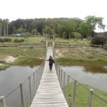 Ponte no Parque Santa Teresa no Uruguai