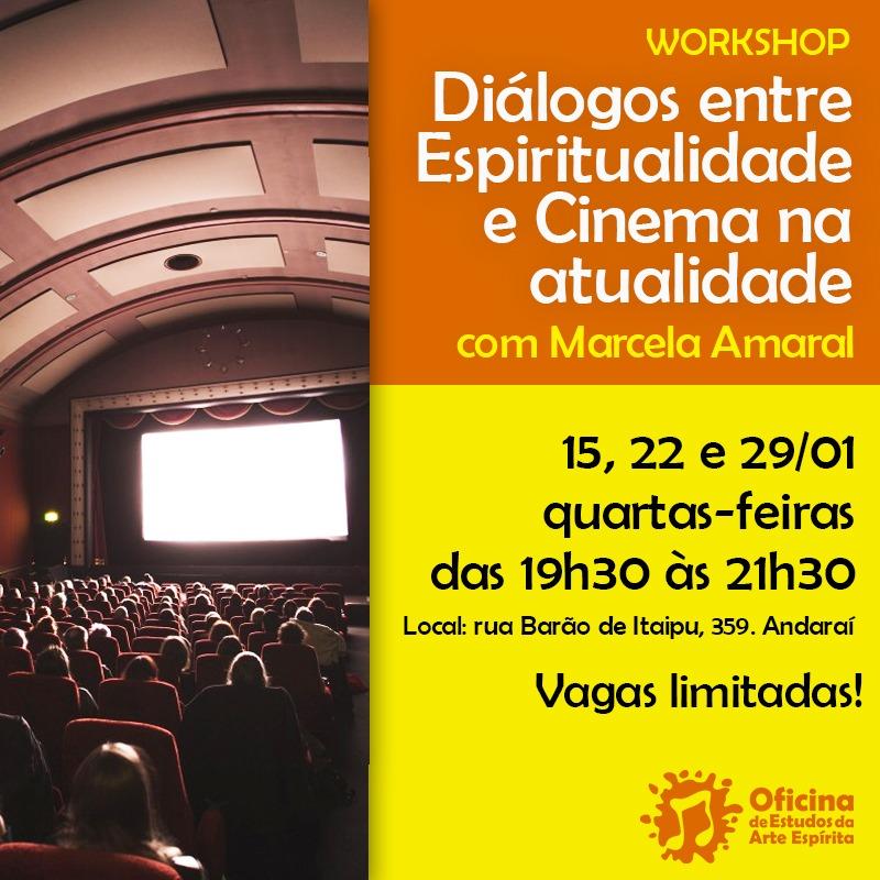 Cinema e Espiritualidade com Marcela Amaral