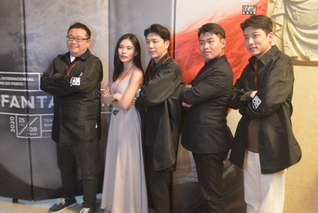 Premiados no Fantasporto 2020. Elenco de Fallen, filme da Coreia do Sul.