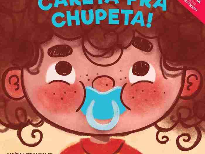 livro infantil careta para a chupeta