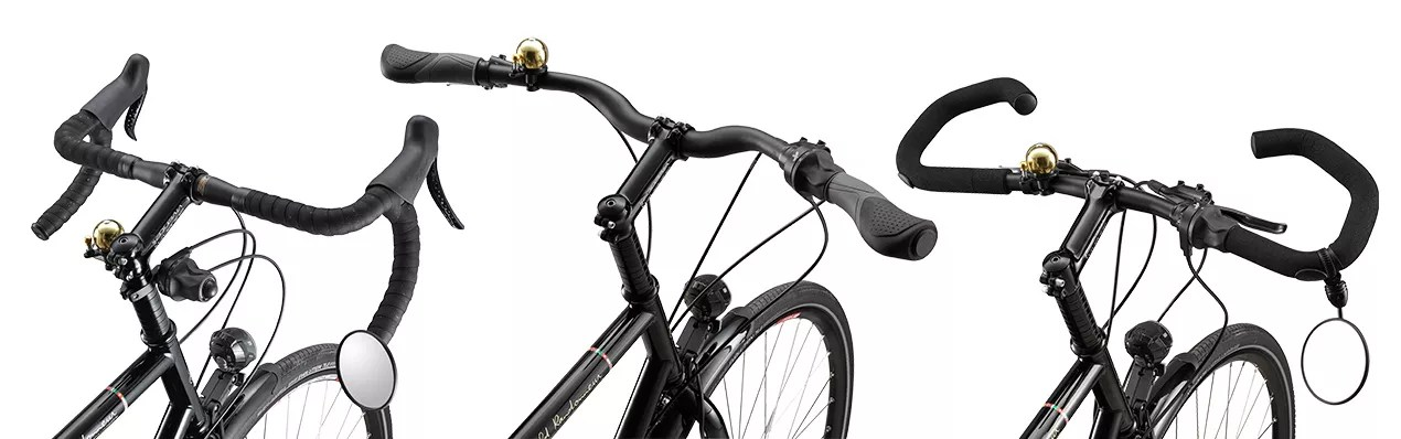 23584bf9a7a How to Choose the Right Handlebars on a Touring Bicycle   Vivente Bikes