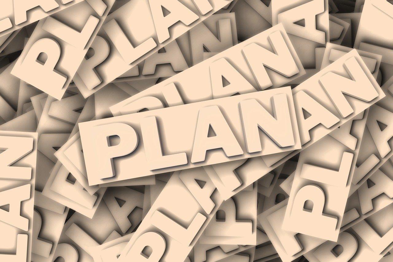 plan, word, fonts