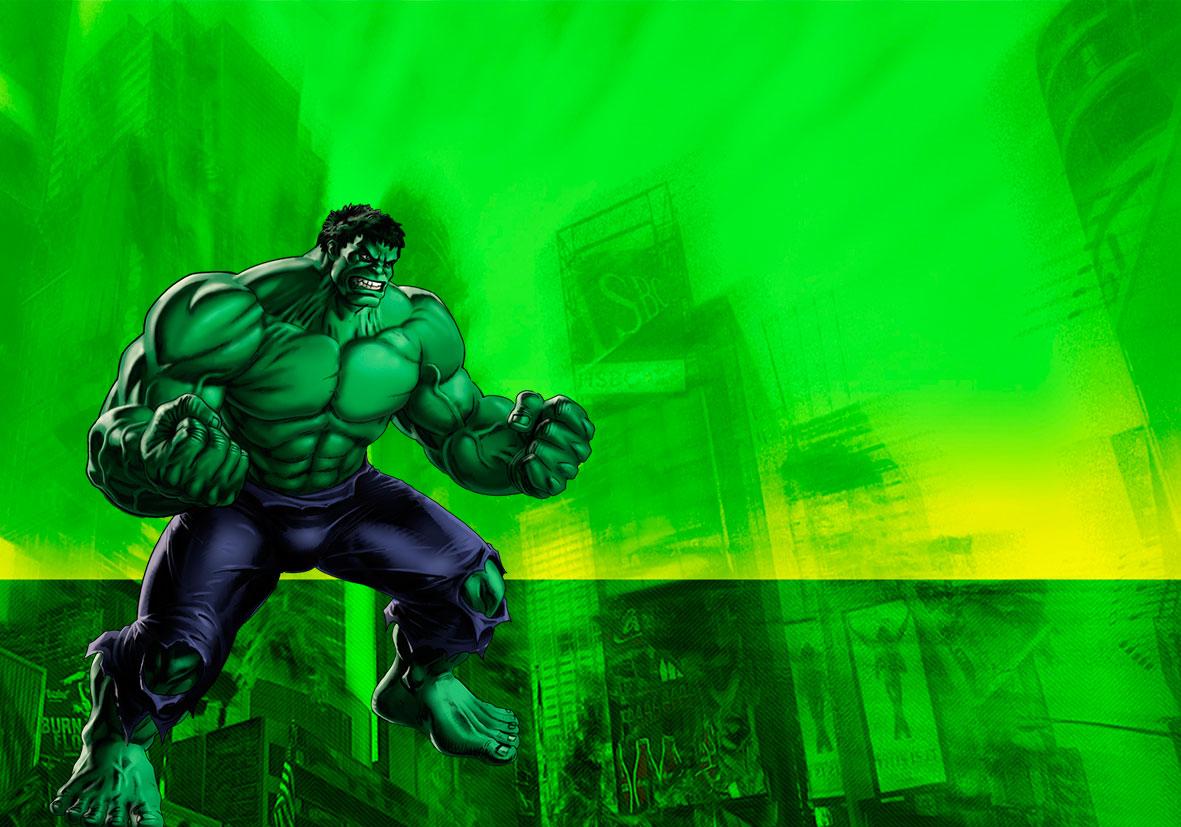 Kit Para Imprimir Hulk Viver Com Criatividade