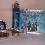 Kit festa Frozen - Marmitinha, Latinha e Tubete