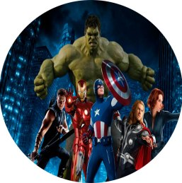 Vingadores - Kit Digital Grátis para Imprimir