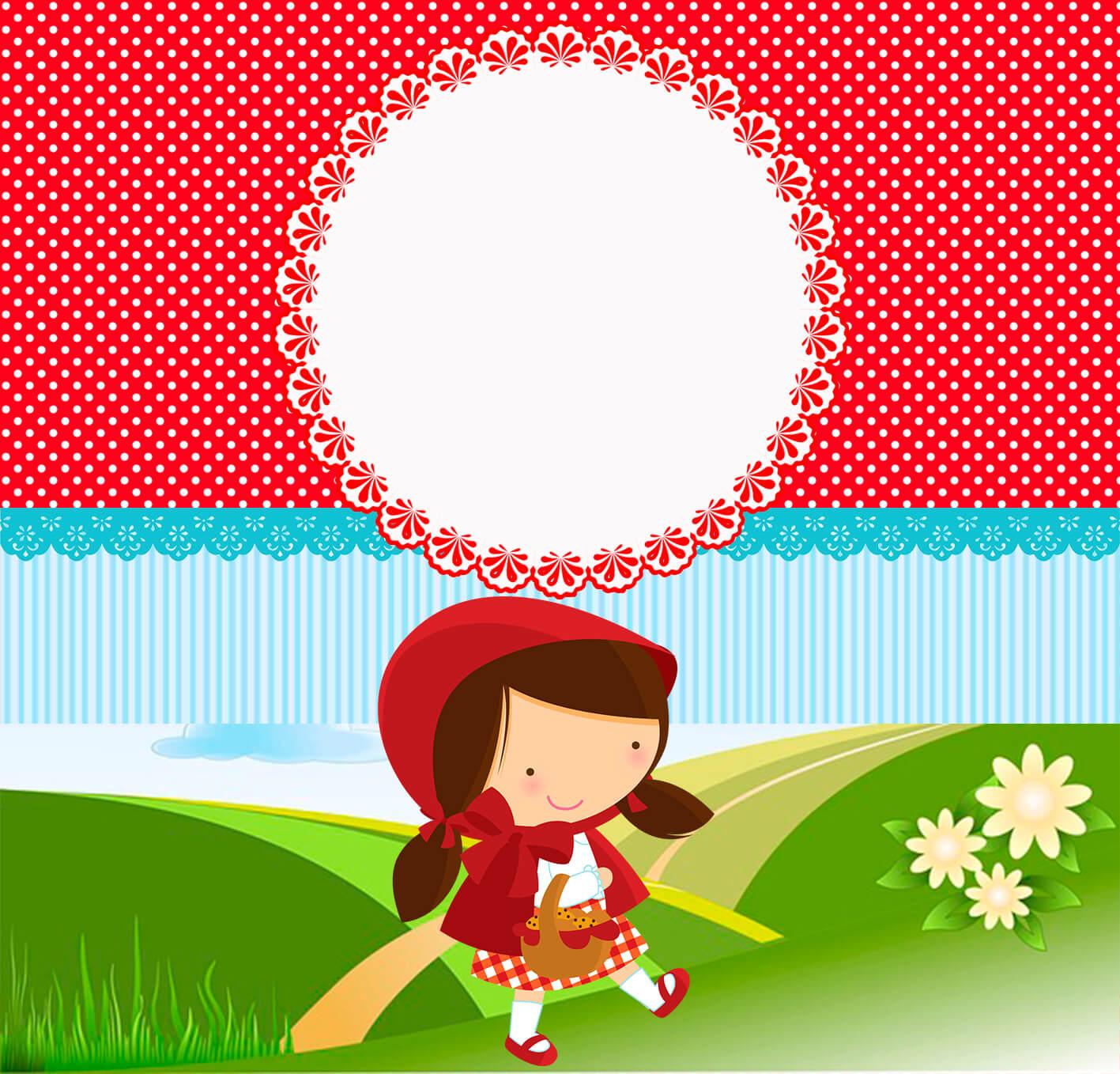 Kit Digital Chapeuzinho Vermelho Gratuito Viver Com Criatividade