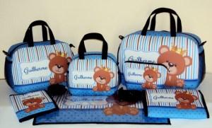 Kit Bolsa Maternidade Urso