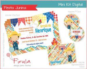 kit festa digital festa junina - festa julina