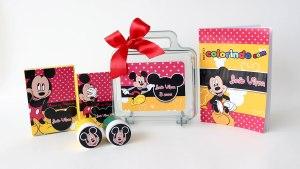 Curso Express Online de Cartonagem e Lembranças Infantis de Luxo Mickey