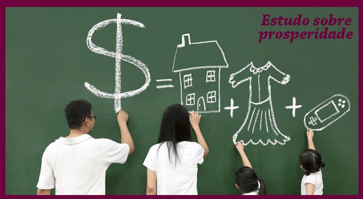 Estudo sobre prosperidade - Os 3 princípios de prosperidade dos milionários espirituais!