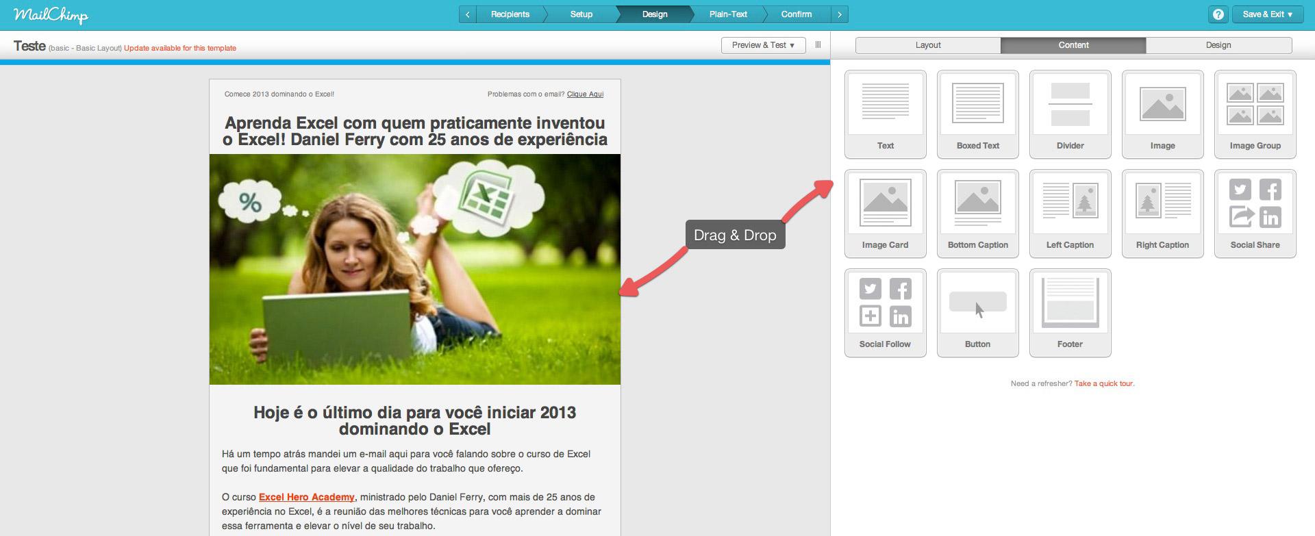 mailchimp campanha O Poder do Email Marketing: Como Criar uma Lista de Email Poderosa