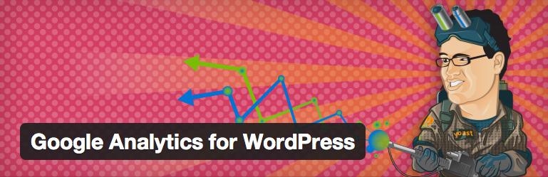 4. Google Analytics for WordPress (by Yoast)