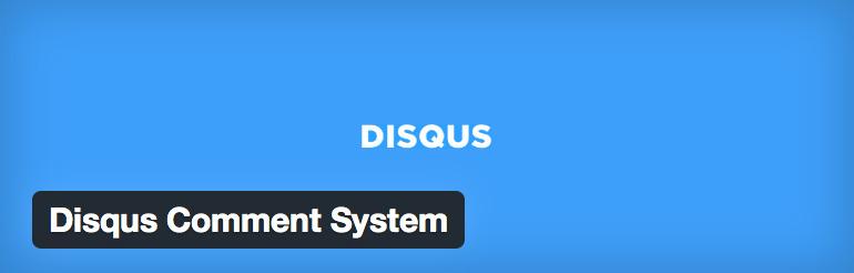 5. Disqus Comment System