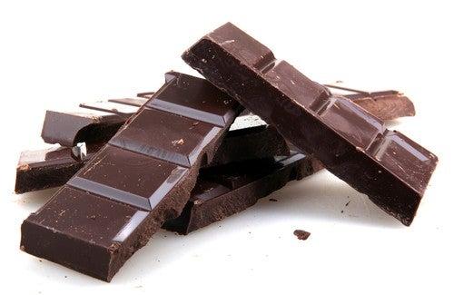 Cioccolato fondente cibi da mangiare quando siamo stanchi
