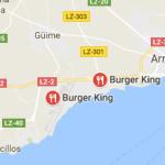 Burger King senza glutine a Lanzarote
