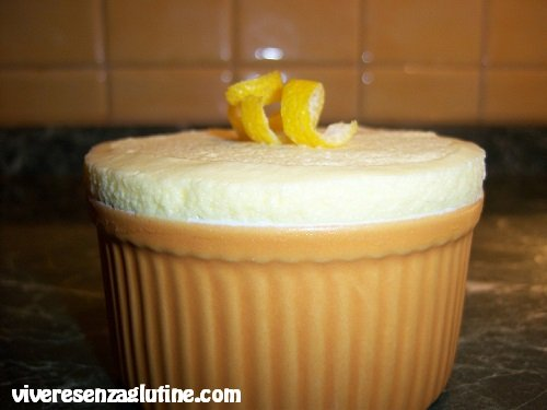 Mousse al limone senza glutine