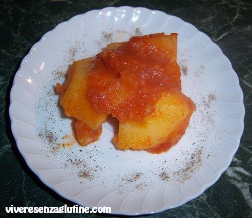 Patate in umido senza glutine