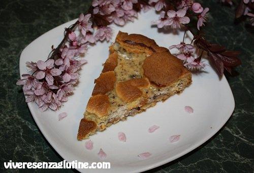Gluten-free ricotta and chocolate tart
