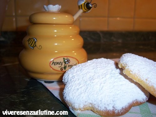 Gluten-free honey cookies