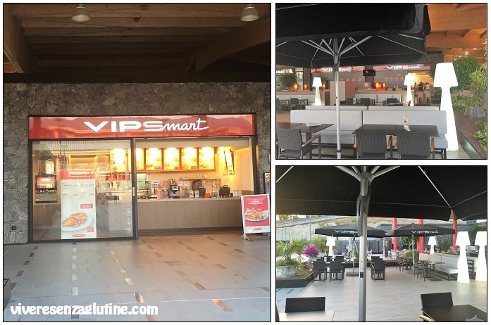 Vipsmart with gluten-free menu in Tenerife