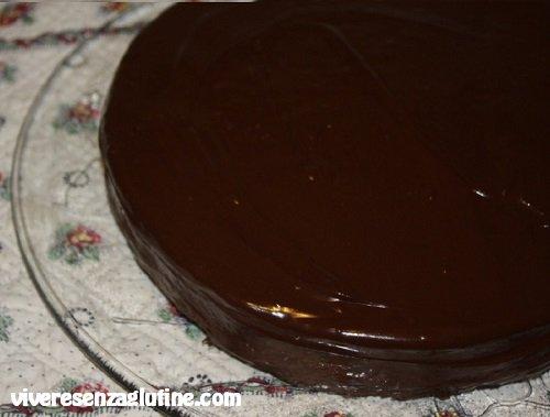 Torta Sacher senza glutine