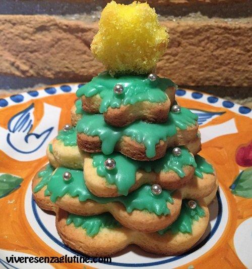 Alberelli di Natale senza glutine