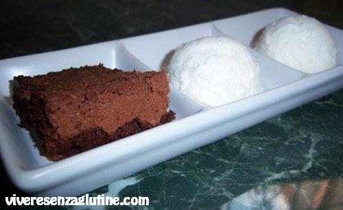 Gluten-free truffle chocolate cake