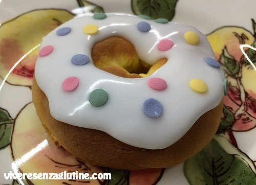 Gluten-free donuts of Carnival