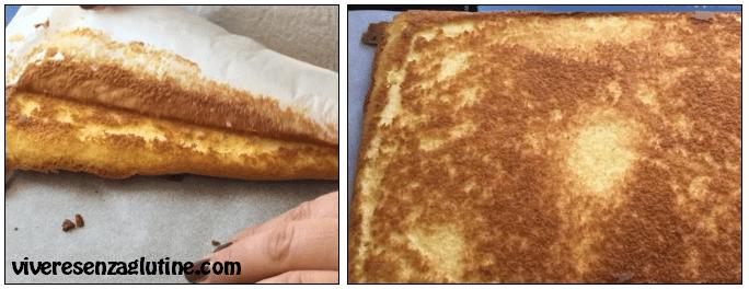 Gluten-free sponge cake