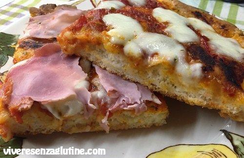pizza al taglio senza glutine